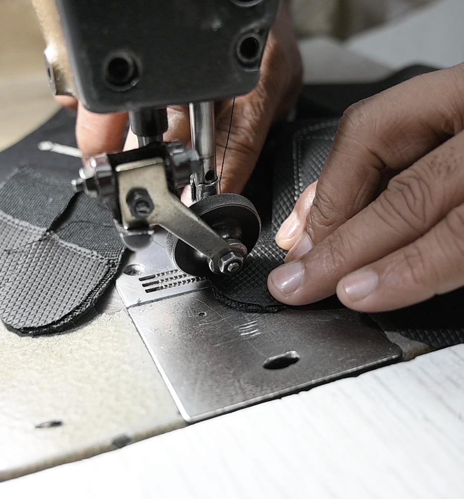 tillverkning arbetshandskar